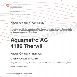 Certificat FOC Aviation
